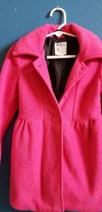 Dark pink coat